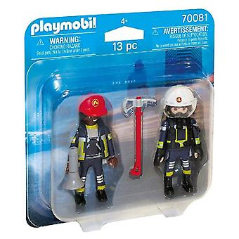 Dolls City Action Firefighters Playmobil 70081 (13 pcs)