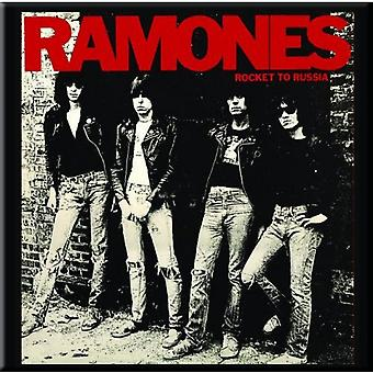 Ramones Fridge Magnet Rocket to Russia new Official 76mm x 76mm