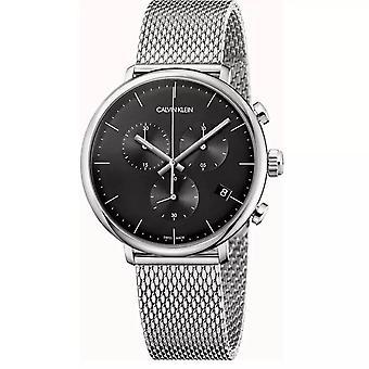 Calvin Klein K8M27121 High Noon Chronograph Quartz Black Dial Men's Watch