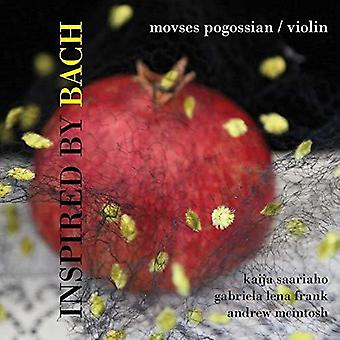 Frank / Pogossian / Worden - Inspired by Bach [CD] USA import