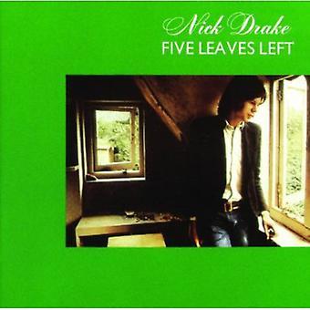 Nick Drake - Five Leaves Left [Vinyl] USA import