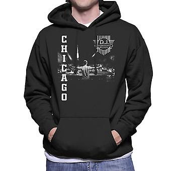 DJ International Chicago Live Men's Hooded Sweatshirt