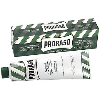 Proraso Shaving Cream Tube With Eucalyptus Oil and Menthol 150ml