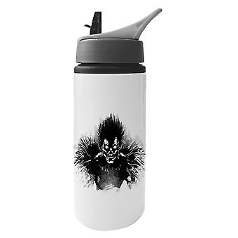 Death Note Bored Shinigami Aluminium Water Bottle With Straw