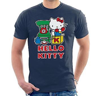 Hello Kitty Talking On The Telephone Miesten&s T-paita