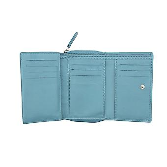 Primehide Womens RFID Blocking Leather Wallet Coin Tray Purse Card Holder 22830