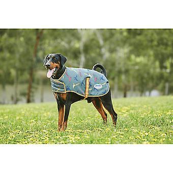 Weatherbeeta Comfitec Premier Free Parka Dog Coat Medium - Vert Faisan Print