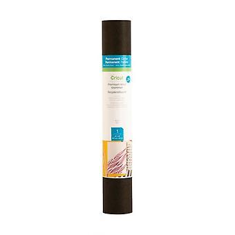 Cricut Premium Vinilo Shimmer Negro