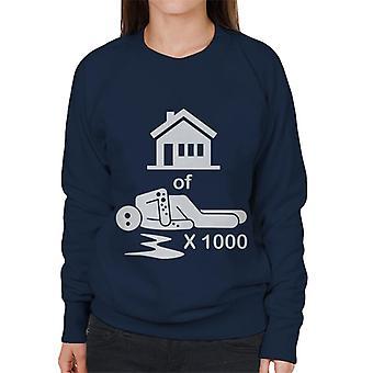 House Of 1000 Stickmen Women's Sweatshirt