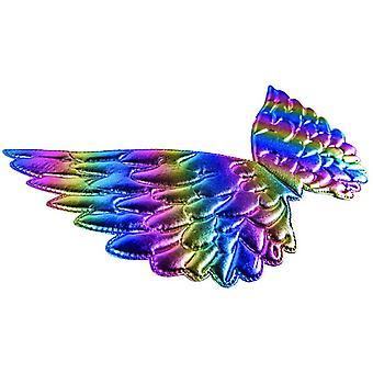 Grandpiano Rainbow 44 x 23 cm Lasten siipi tyttö Sateenkaaren värikäs siipi pastelli