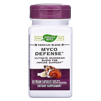 Nature's Way, Premium Blend, Myco Defense, 60 Vegan Capsules