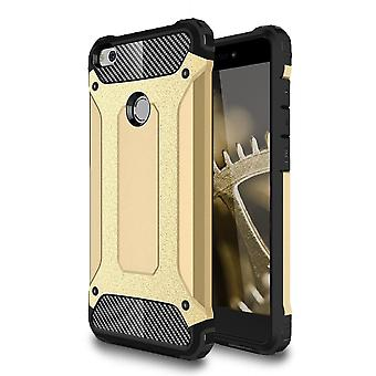 Shell para Huawei Y6II / Honor 5A Gold Armor Protection Case Hard