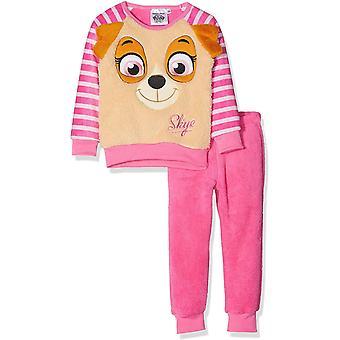 Girls RH2031 Paw Patrol Long Sleeve Soft Fleece Pyjama Set Size : 3-6 Years