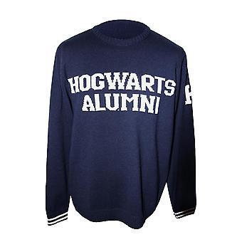 Harry Potter Hogwarts Alumni Knitted Sweater/ Jumper