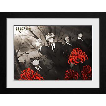 Tokyo Ghoul: RE Red Flowers Collector Print