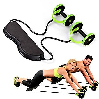 High Quality Ab Roller Wheel Abdominal Training Wheel Abdominal Resistance Pull Rope Tool Fitness