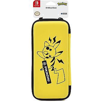 Hori Pikachu Emboss Case officieel gelicenseerd Nintendo Switch