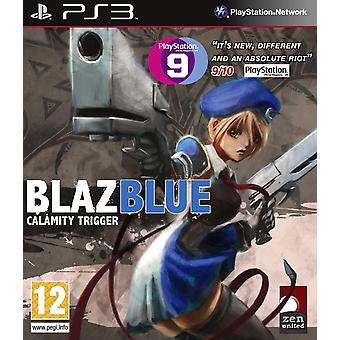 BlazBlue Calamity Trigger PS3 Game