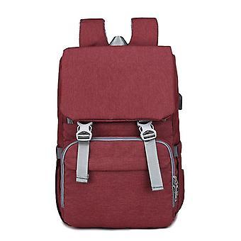 Nylon Diaper Bag Backpack