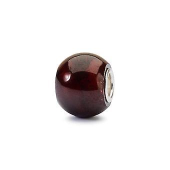 Troll pärlor rund granat pärla TSTBE-00021