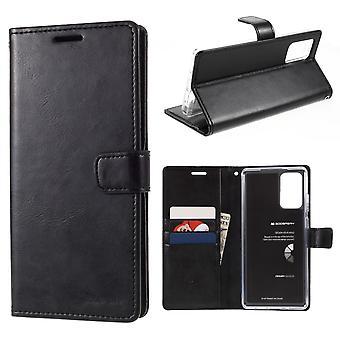 MERCURY GOOSPERY Sininen kuu Samsung Galaxy Note 20 - Musta