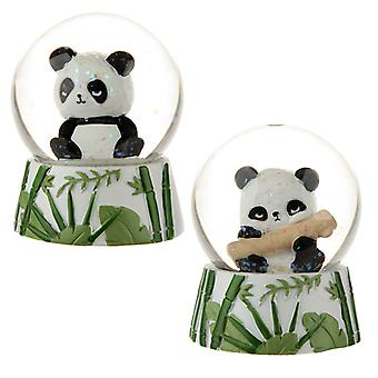Novelty Collectable Panda Snow Globe X 1 Pack