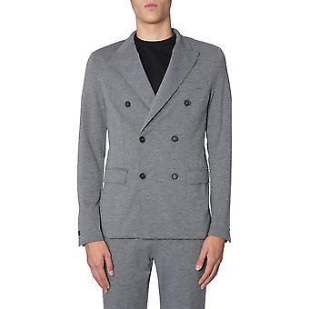 Traiano Tb06ta15tl2l Men's Grey Nylon Blazer