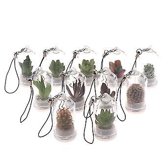 Cactus Miniature Wearable Necklace Diy
