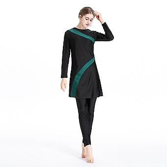 Muslimah Maillot de bain Burkini Long Sleeve Beach Surf &sport Burkinis Islamique