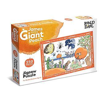 Roald Dahl- 250 Piece Jigsaw Puzzle James & The Giant Peach