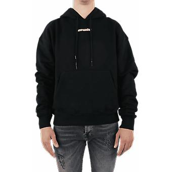 OFF WHITE Marker Over Hoodie Black OMBB037E20FLE0021045 Top