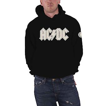 AC/DC hoodie band logo Applique Angus patch officiella mens svart Pullover svart