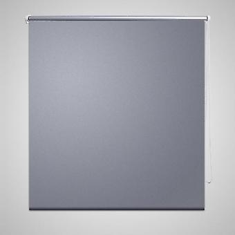 Blackout roller blind 120 x 175 cm grey