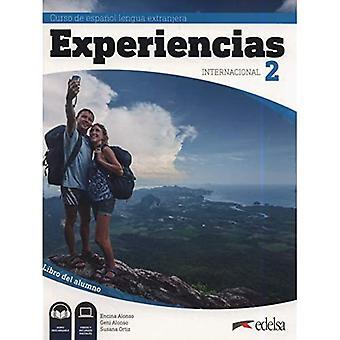 Experiencias Internacional: Libro del alumno 2 (A2) +� audio descargable