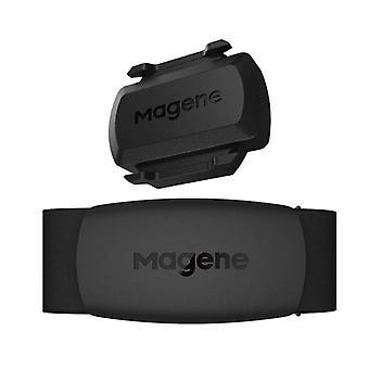 Magene S3 + سرعة سرعة استشعار إيقاع النمل + بلوتوث مقياس سرعة الكمبيوتر لغارمين