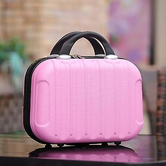 Fashion Small Suitcase On Wheels Ladies Mini Cabin Chassis Trolley Password