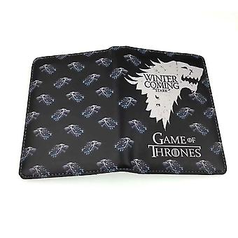 PU leather Coin Purse Cartoon anime wallet --Game of Thrones # 581