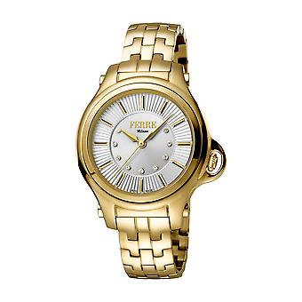 Ferre Milano Ladies Silver Dial GP Watch