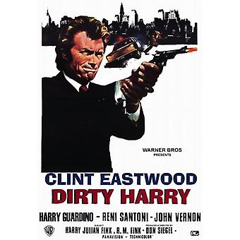 Dirty Harry Film-Poster (11 x 17)