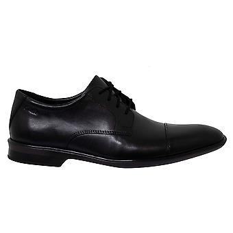 كلاركس بينسلي كاب الجلد الأسود منخفض الدانتيل حتى أحذية أكسفورد رجال 261477137