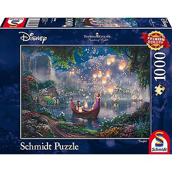 Thomas Kinkade Disney Tangled 1000 Piece Jigsaw Puzzle