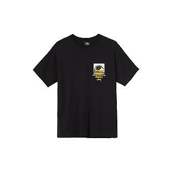 Stussy Tribe S/S T-Shirt Black - Clothing