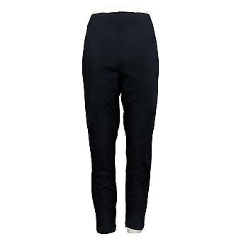 Legacy Petite Leggings Ponte Knit Stretch Blue A387944