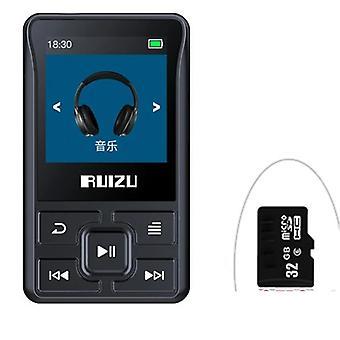 X55 Sport Bluetooth Mp3 Player 8gb Clip Mini con schermo