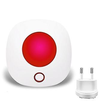 Wireless Strobe Siren Sound And Light Siren Alarm