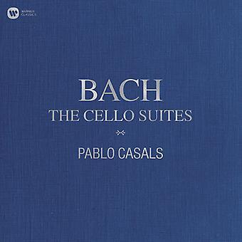 Casals*Pablo - Bach: The Cello Suites [Vinyl] USA import