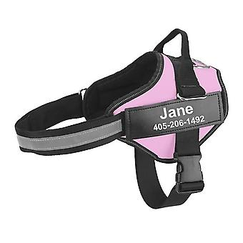 Dog Harness Adjustable Pet Harness For Dog No Pull Pet Outdoor Harness