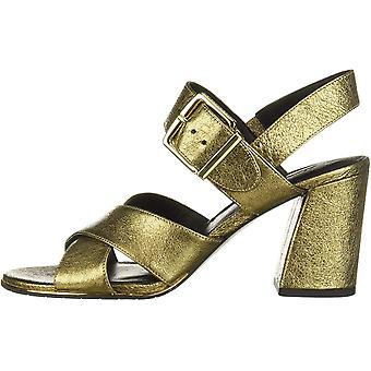 Kenneth Cole New York Women's Lauralynn Flared Heel Sandal Heeled