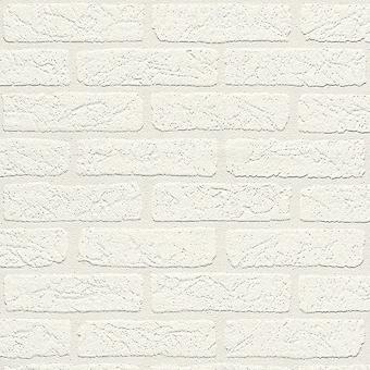 Auswahl 09 ladrillo de alta calidad fondo de pantalla blanco Rasch 309652