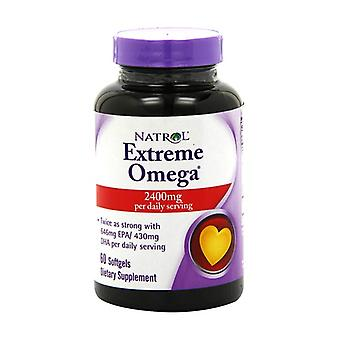 Extreme Omega, 2400mg 60 softgels